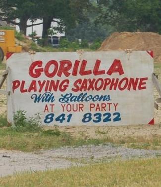gorillasaxaphone